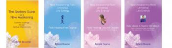 Reiki Healing complete set of Books; 1, 2 & Master plus the Seekers Guide